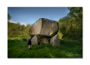 Cian (3) and the monstrously large Glendruid Dolmen